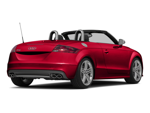 Misano Red Pearl Effect/Black Roof 2015 Audi TTS Pictures TTS Roadster 2D AWD photos rear view