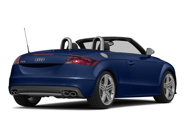 Scuba Blue Metallic/Black Roof 2015 Audi TTS Pictures TTS Roadster 2D AWD photos rear view
