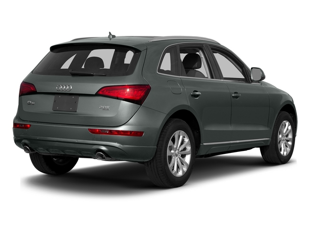 Monsoon Gray Metallic 2015 Audi Q5 Pictures Q5 Utility 4D 2.0T Premium Plus AWD photos rear view