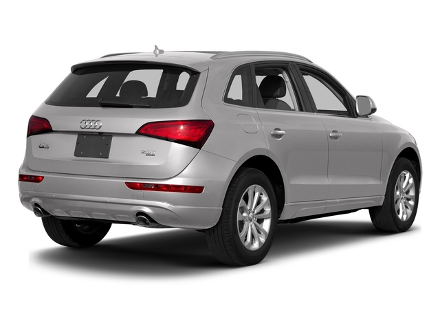 Cuvee Silver Metallic 2015 Audi Q5 Pictures Q5 Utility 4D 3.0T Premium Plus AWD photos rear view