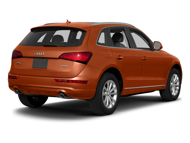 Volcano Red Metallic 2015 Audi Q5 Pictures Q5 Utility 4D 3.0T Premium Plus AWD photos rear view