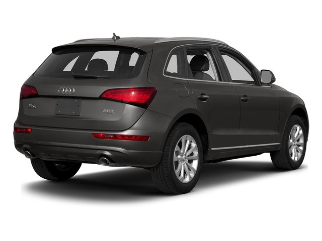 Lava Gray Pearl Effect 2015 Audi Q5 Pictures Q5 Utility 4D 2.0T Premium Plus AWD photos rear view