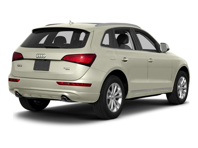 Glacier White Metallic 2015 Audi Q5 Pictures Q5 Utility 4D 3.0T Premium Plus AWD photos rear view