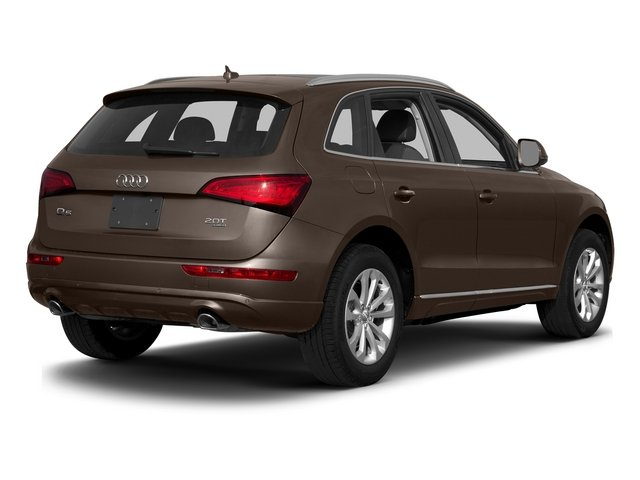 Teak Brown Metallic 2015 Audi Q5 Pictures Q5 Utility 4D 2.0T Premium Plus AWD photos rear view