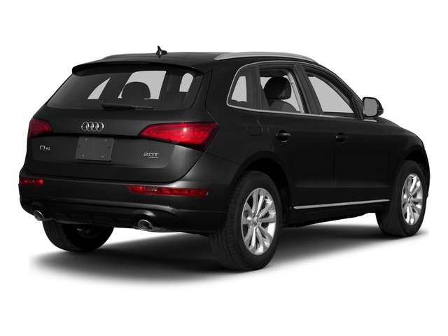 Brilliant Black 2015 Audi Q5 Pictures Q5 Utility 4D 3.0T Premium Plus AWD photos rear view