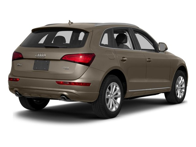 Maya Brown Metallic 2015 Audi Q5 Pictures Q5 Utility 4D 3.0T Prestige AWD photos rear view