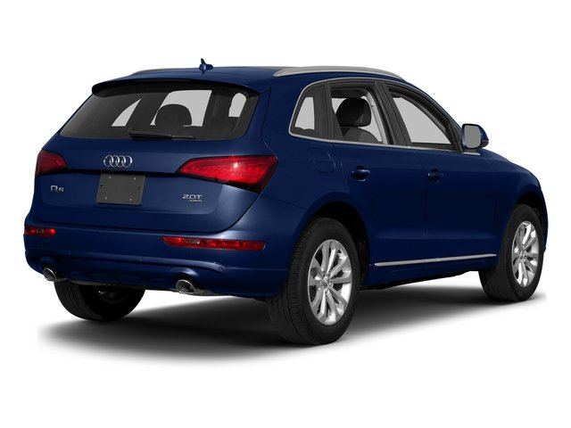 Scuba Blue Metallic 2015 Audi Q5 Pictures Q5 Utility 4D 2.0T Premium Plus AWD photos rear view