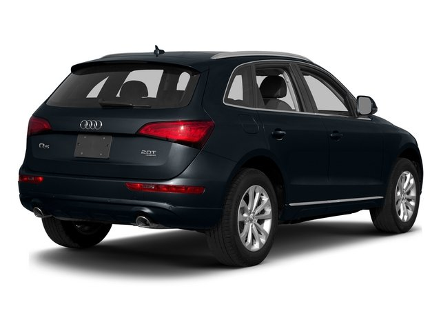 Moonlight Blue Metallic 2015 Audi Q5 Pictures Q5 Utility 4D 3.0T Premium Plus AWD photos rear view