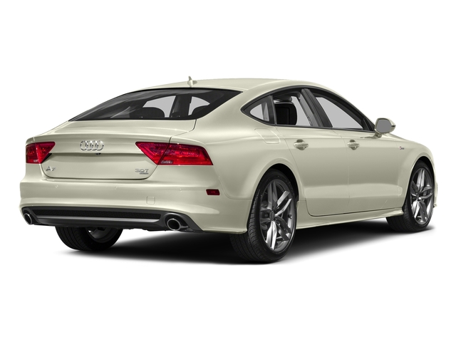 Glacier White Metallic 2015 Audi A7 Pictures A7 Sedan 4D 3.0T Premium Plus AWD photos rear view