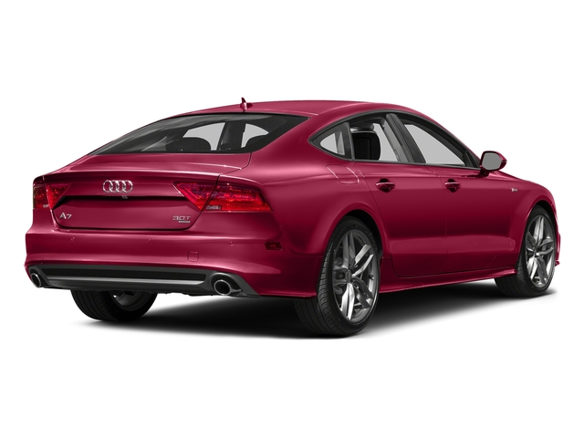 Garnet Red Pearl Effect 2015 Audi A7 Pictures A7 Sedan 4D 3.0T Premium Plus AWD photos rear view