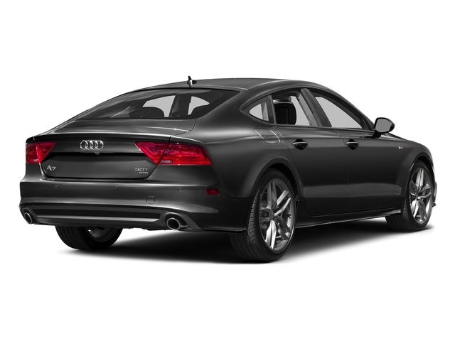 Phantom Black Pearl Effect 2015 Audi A7 Pictures A7 Sedan 4D 3.0T Premium Plus AWD photos rear view