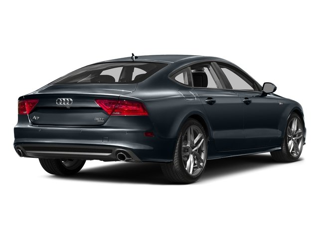 Moonlight Blue Metallic 2015 Audi A7 Pictures A7 Sedan 4D 3.0T Premium Plus AWD photos rear view