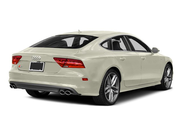 Glacier White Metallic 2015 Audi S7 Pictures S7 Sedan 4D S7 Prestige AWD photos rear view