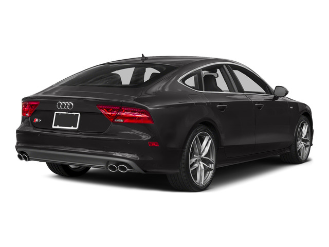 Oolong Gray Metallic 2015 Audi S7 Pictures S7 Sedan 4D S7 Prestige AWD photos rear view