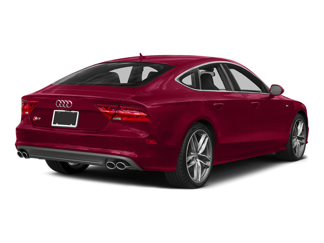 Garnet Red Pearl Effect 2015 Audi S7 Pictures S7 Sedan 4D S7 Prestige AWD photos rear view