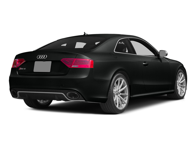 Mythos Black Metallic 2015 Audi RS 5 Pictures RS 5 Coupe 2D RS5 AWD V8 photos rear view