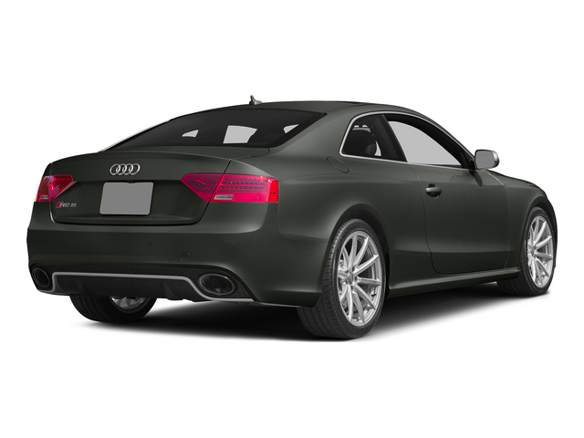 Daytona Gray Pearl Effect 2015 Audi RS 5 Pictures RS 5 Coupe 2D RS5 AWD V8 photos rear view