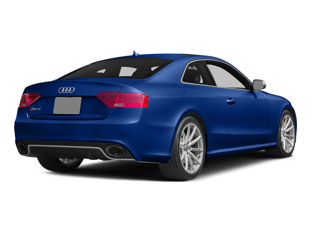 Sepang Blue Pearl Effect 2015 Audi RS 5 Pictures RS 5 Coupe 2D RS5 AWD V8 photos rear view