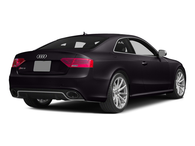 Panther Black Crystal Effect 2015 Audi RS 5 Pictures RS 5 Coupe 2D RS5 AWD V8 photos rear view