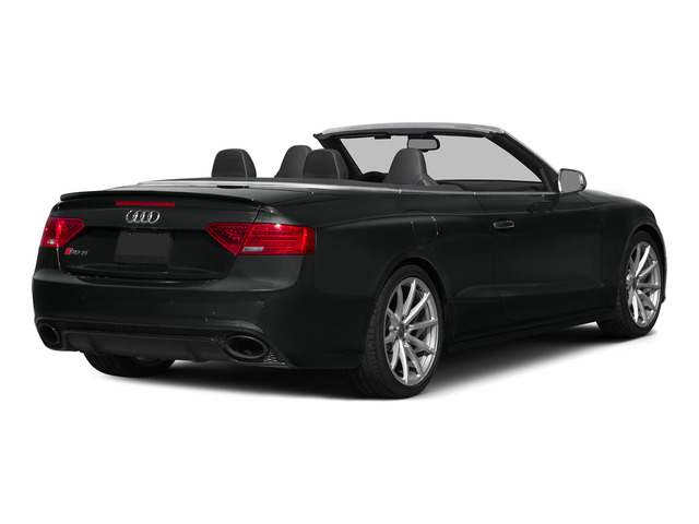 Mythos Black Metallic/Black Roof 2015 Audi RS 5 Pictures RS 5 Convertible 2D RS5 AWD V8 photos rear view