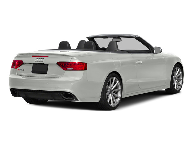 Suzuka Gray Metallic/Black Roof 2015 Audi RS 5 Pictures RS 5 Convertible 2D RS5 AWD V8 photos rear view