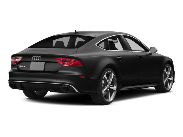 Phantom Black Pearl Effect 2015 Audi RS 7 Pictures RS 7 Sedan 4D Prestige AWD photos rear view