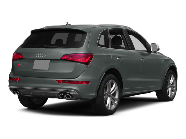 Monsoon Gray Metallic 2015 Audi SQ5 Pictures SQ5 Utility 4D Premium Plus AWD V6 photos rear view
