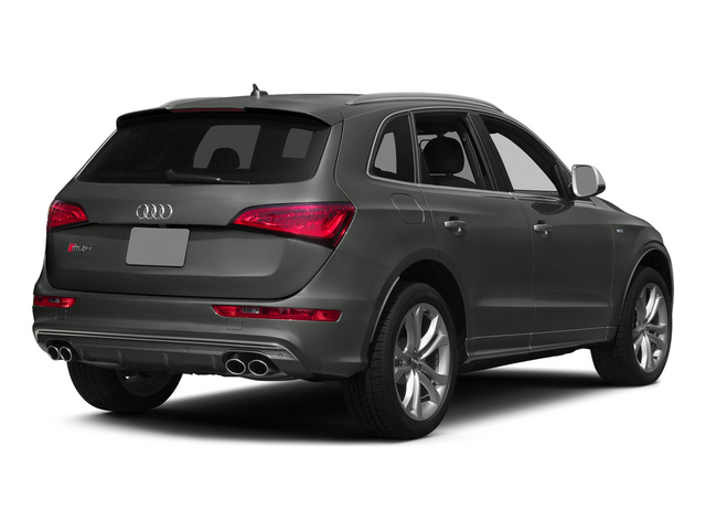Daytona Gray Pearl Effect 2015 Audi SQ5 Pictures SQ5 Utility 4D Premium Plus AWD V6 photos rear view