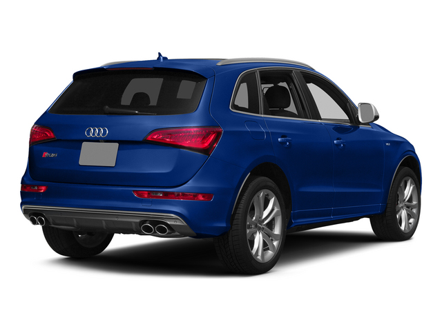Sepang Blue Pearl Effect 2015 Audi SQ5 Pictures SQ5 Utility 4D Premium Plus AWD V6 photos rear view