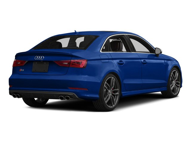 Sepang Blue Pearl 2015 Audi S3 Pictures S3 Sedan 4D Premium Plus AWD I4 Turbo photos rear view