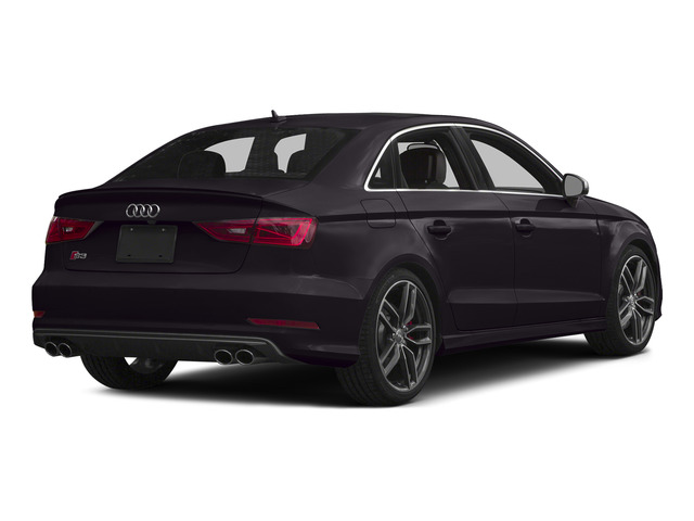 Panther Black Crystal Effect 2015 Audi S3 Pictures S3 Sedan 4D Prestige AWD I4 Turbo photos rear view