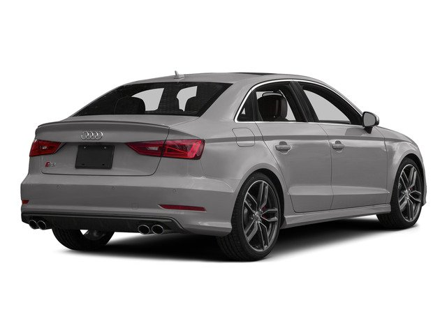 Florett Silver Metallic 2015 Audi S3 Pictures S3 Sedan 4D Prestige AWD I4 Turbo photos rear view