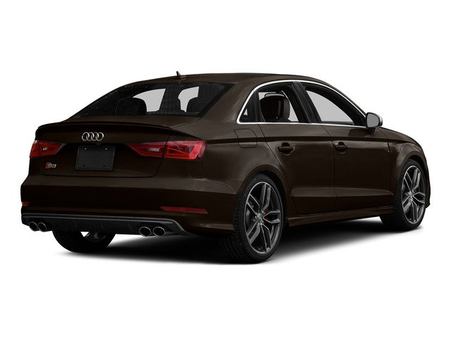Beluga Brown Metallic 2015 Audi S3 Pictures S3 Sedan 4D Prestige AWD I4 Turbo photos rear view