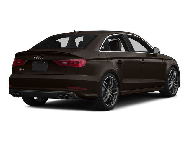 Beluga Brown Metallic 2015 Audi S3 Pictures S3 Sedan 4D Premium Plus AWD I4 Turbo photos rear view
