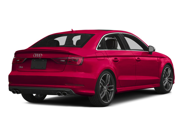 Misano Red Pearl Effect 2015 Audi S3 Pictures S3 Sedan 4D Prestige AWD I4 Turbo photos rear view