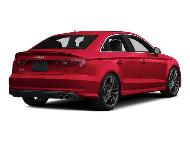 Misano Red Pearl Effect 2015 Audi S3 Pictures S3 Sedan 4D Premium Plus AWD I4 Turbo photos rear view