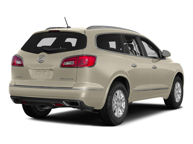 Champagne Silver Metallic 2015 Buick Enclave Pictures Enclave Utility 4D Leather 2WD V6 photos rear view