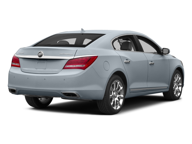 White Frost Tricoat 2015 Buick LaCrosse Pictures LaCrosse Sedan 4D I4 Hybrid photos rear view