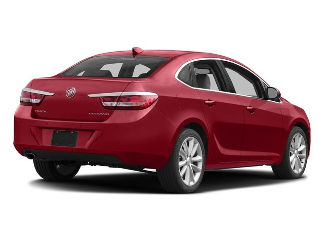 Crystal Red Tintcoat 2015 Buick Verano Pictures Verano Sedan 4D Convenience I4 photos rear view