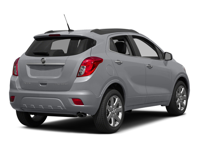 Quicksilver Metallic 2015 Buick Encore Pictures Encore Utility 4D Premium 2WD I4 Turbo photos rear view