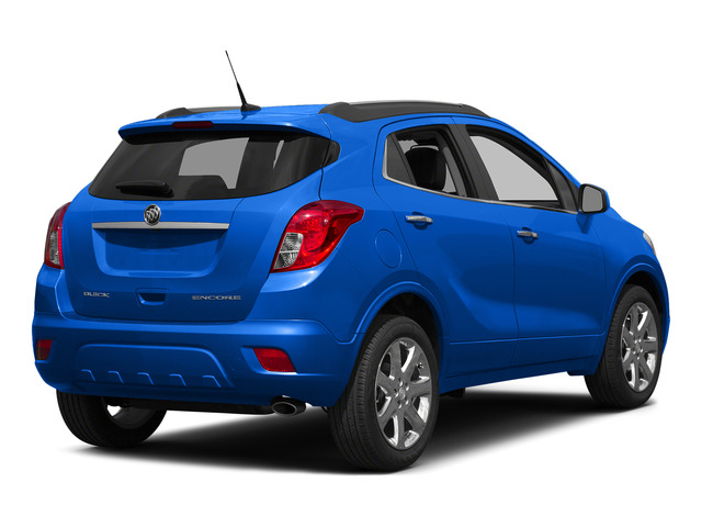 Brilliant Blue Metallic 2015 Buick Encore Pictures Encore Utility 4D Premium 2WD I4 Turbo photos rear view