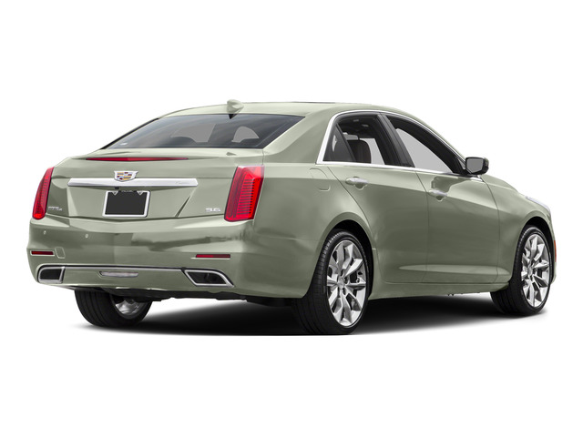 Crystal White Tricoat 2015 Cadillac CTS Sedan Pictures CTS Sedan 4D V-Sport Premium V6 Turbo photos rear view