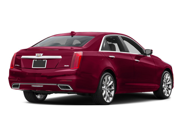 Red Obsession Tintcoat 2015 Cadillac CTS Sedan Pictures CTS Sedan 4D V-Sport Premium V6 Turbo photos rear view