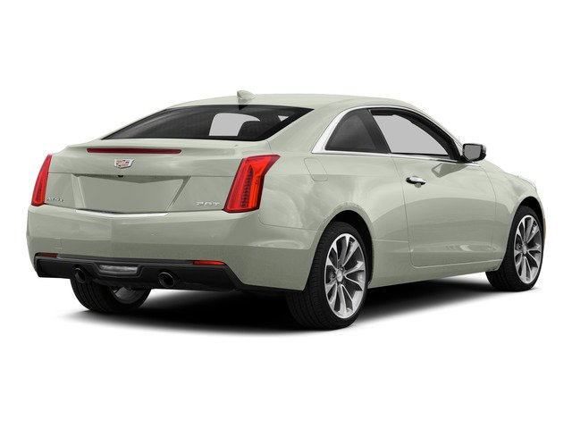 Crystal White Tricoat 2015 Cadillac ATS Coupe Pictures ATS Coupe 2D Premium AWD V6 photos rear view