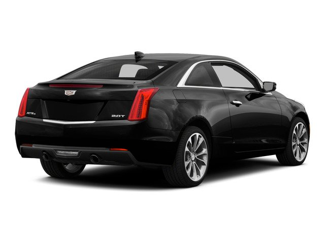 Black Raven 2015 Cadillac ATS Coupe Pictures ATS Coupe 2D Premium AWD V6 photos rear view