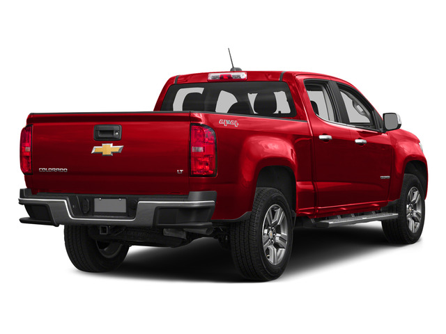 Red Hot 2015 Chevrolet Colorado Pictures Colorado Crew Cab Work Truck 2WD photos rear view