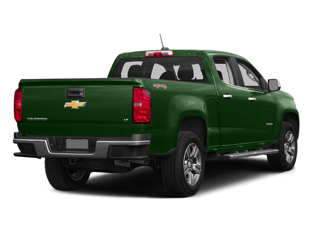 Rainforest Green Metallic 2015 Chevrolet Colorado Pictures Colorado Crew Cab Work Truck 2WD photos rear view