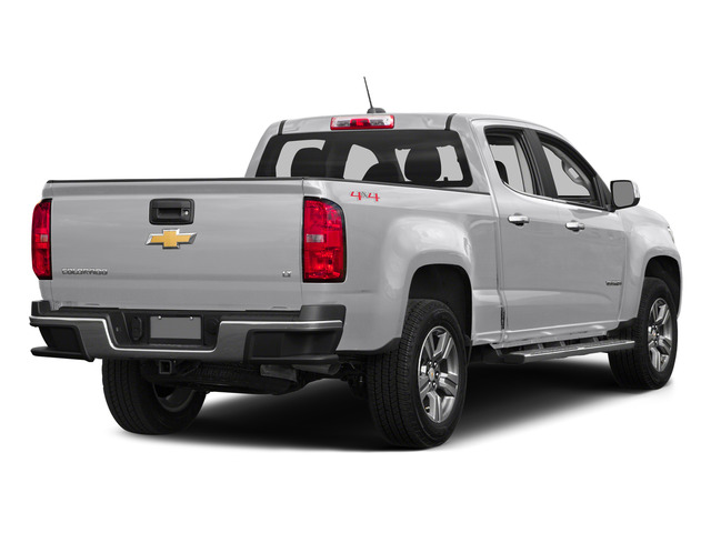 Summit White 2015 Chevrolet Colorado Pictures Colorado Crew Cab Work Truck 2WD photos rear view