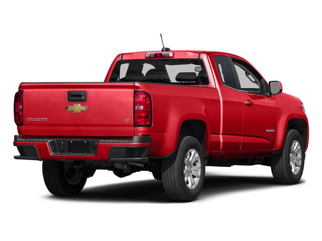 Red Hot 2015 Chevrolet Colorado Pictures Colorado Extended Cab LT 4WD photos rear view
