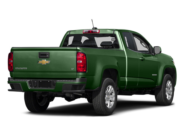 Rainforest Green Metallic 2015 Chevrolet Colorado Pictures Colorado Extended Cab LT 4WD photos rear view